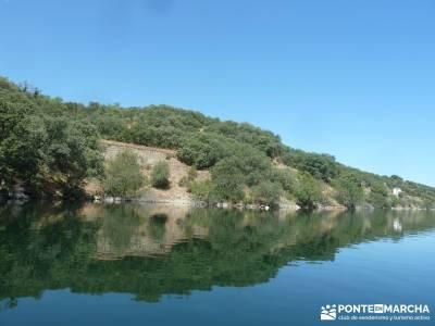 Piragua El Atazar;viajes de naturaleza viajes en fin de año viajes fin semana